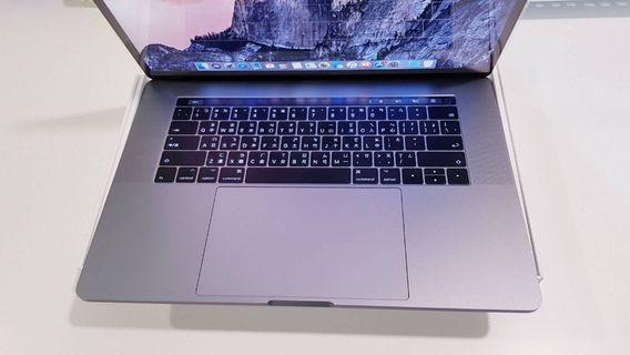 2017客製頂規 15吋 Macbook Pro Retina 16G/512G Touch Bar 機身全新盒裝完整