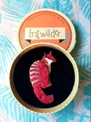 🇦🇺BNIB🇦🇺 ERSTWILDER Nifty Numbat Brooch - Limited Edition Collectible