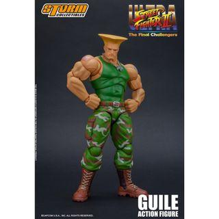 PRE-ORDER : Storm Collectibles Ultra Street Fighter II: The Final Challengers - Guile