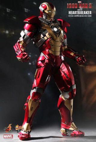 Hottoys Iron man 3 Mark 17 Heartbreaker