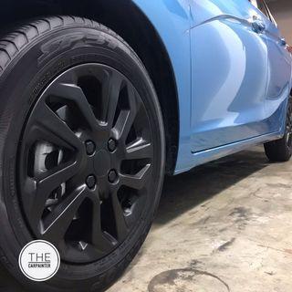Honda Jazz Rims Emblem Plastidip Spray Service Plasti Dip