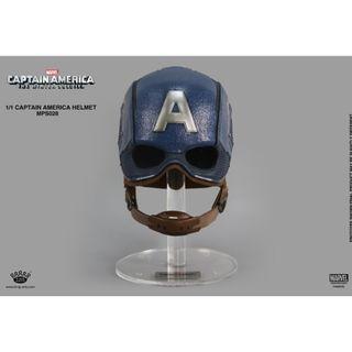 PRE-ORDER : King Arts MPS028 - Captain America: Civil War - 1/1th Scale Captain America Helmet (Reissue)