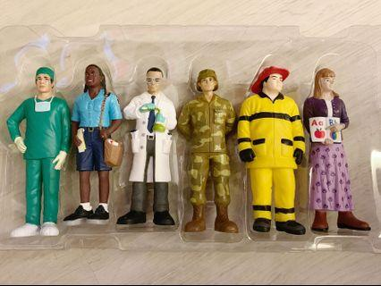 Brand New Community Workers Figurines (12s)