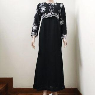 Black Jubah Dress #GAYARAYA #SURIAKLCC