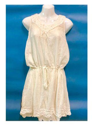 雪紡無袖洋裝
