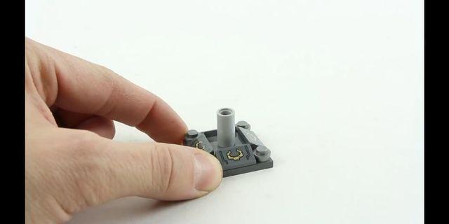 Lego marvel 76107 infinity gauntlet base 無限手套底座 貼紙已貼 #infinity war #endgame #avengers