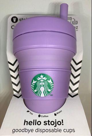 🚚 Starbucks Stojo Collapsible Cup