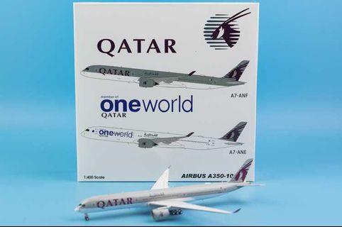 1/400 Aviation 400 QATAR AIRWAYS A350-1000 A7-ANF