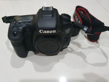 CANON DSLR 7D MARK II
