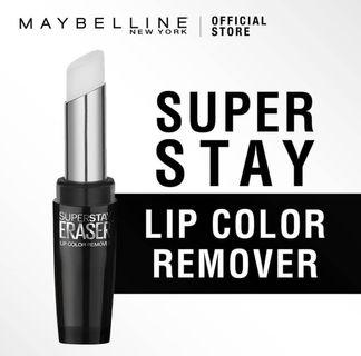 SUPER STAY lip color remover