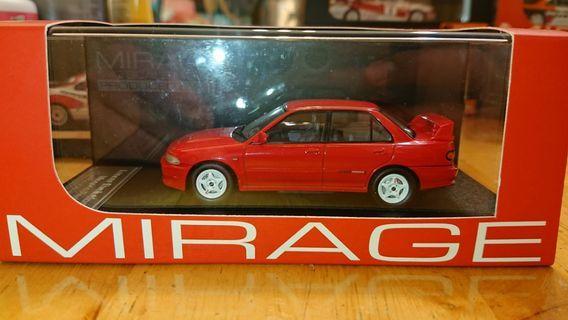 1/43 HPI EVO II Monaco Red