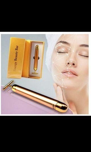 24k gold energy beauty bar with freebie