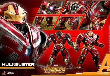Hottoys 訂單 Hulk buster2.0 PPS005