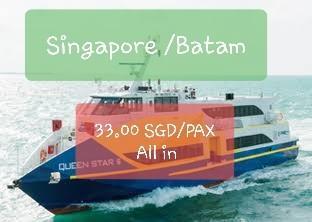 🚚 Singapore to Batam ferry tickets