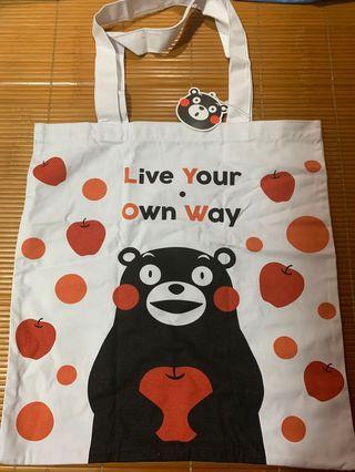 熊本熊環保袋kumamon tote bag