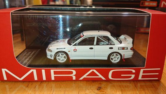 1/43 HPI EVO 1992 Test car