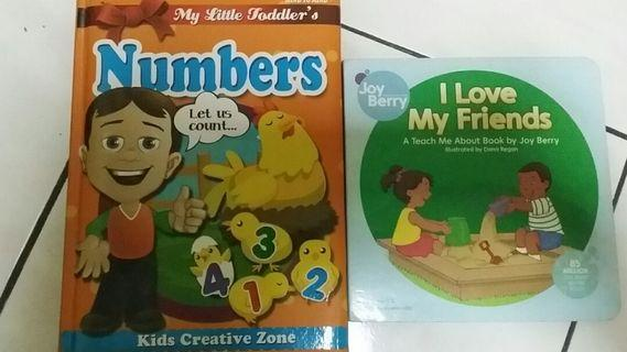 Children learning book set