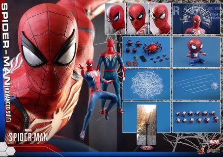 Hottoys 訂單 Spiderman PS4 蜘蛛俠