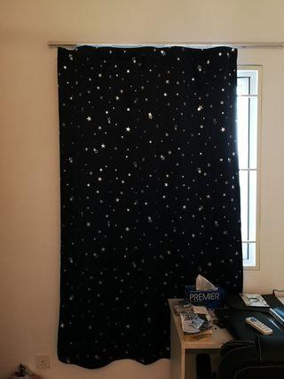 3 Sets of Blackout Curtain