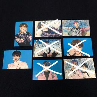 (WTS) OFFICIAL BTS WINGS MINI PHOTOCARD