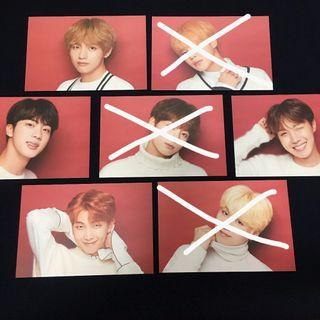 (WTS) BTS X SHIBUYA OFFICIAL POST CARDS