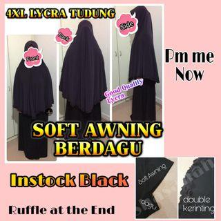 LYCRA 4XL TUDUNG OR KHIMAR