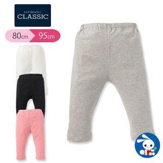 【日本西松屋】夏天百搭易襯彈性7分褲 baby pants bb