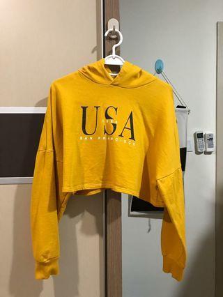 H&M Crop Top Hoodie Sweater