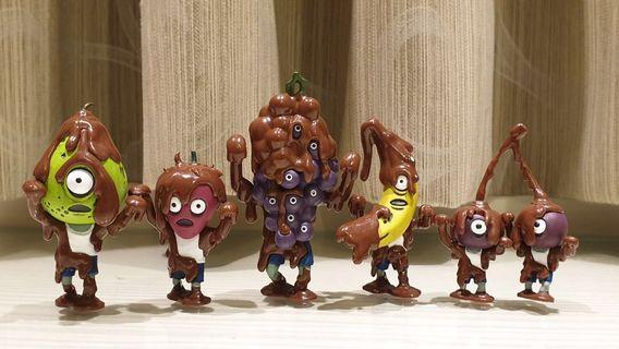 🚚 日本 現貨 T-ARTS 巧克力融化的水果殭屍 軍團 人形 擺飾 熊貓之穴 紫葡萄 櫻桃 香蕉 草莓 西洋梨~