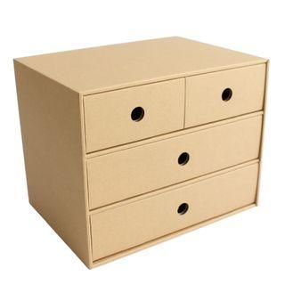 Kraft Paper Storage Box