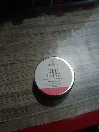 LipLapin Lip Tinted Balm Red Rose