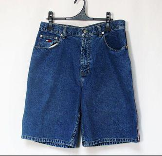 90'S Vintage Tommy Jeans Denim Shorts