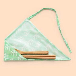 🚚 好日子 pockeat 環保食物袋 餐具套 口袋的便當盒 嘖嘖集資