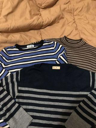 Stripes Sweatshirt (100k get 3)