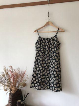 Vintage A字裙型小洋裝