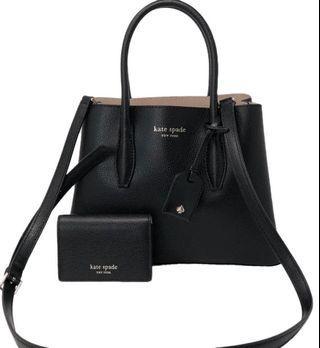 Authentic Kate Spade Eva Small Satchel Handbag/ Slingbag