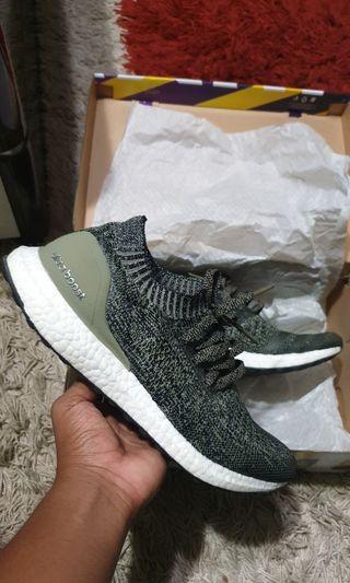 Adidas Ultraboost Uncaged green/khaki/TRACE CARGO US 9.5