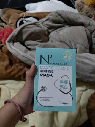 🚚 N3杏仁酸淨白面膜