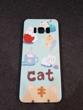 Samsung S8 Casing Cat Design