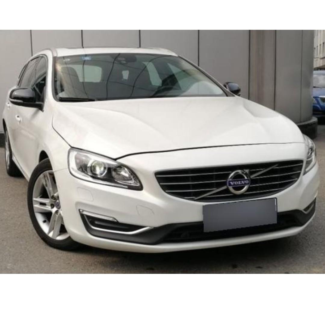 賣50萬跑三萬多 [Nice] 2017年 Volvo/富豪 V60 新車在入庫*2不快就要被買走