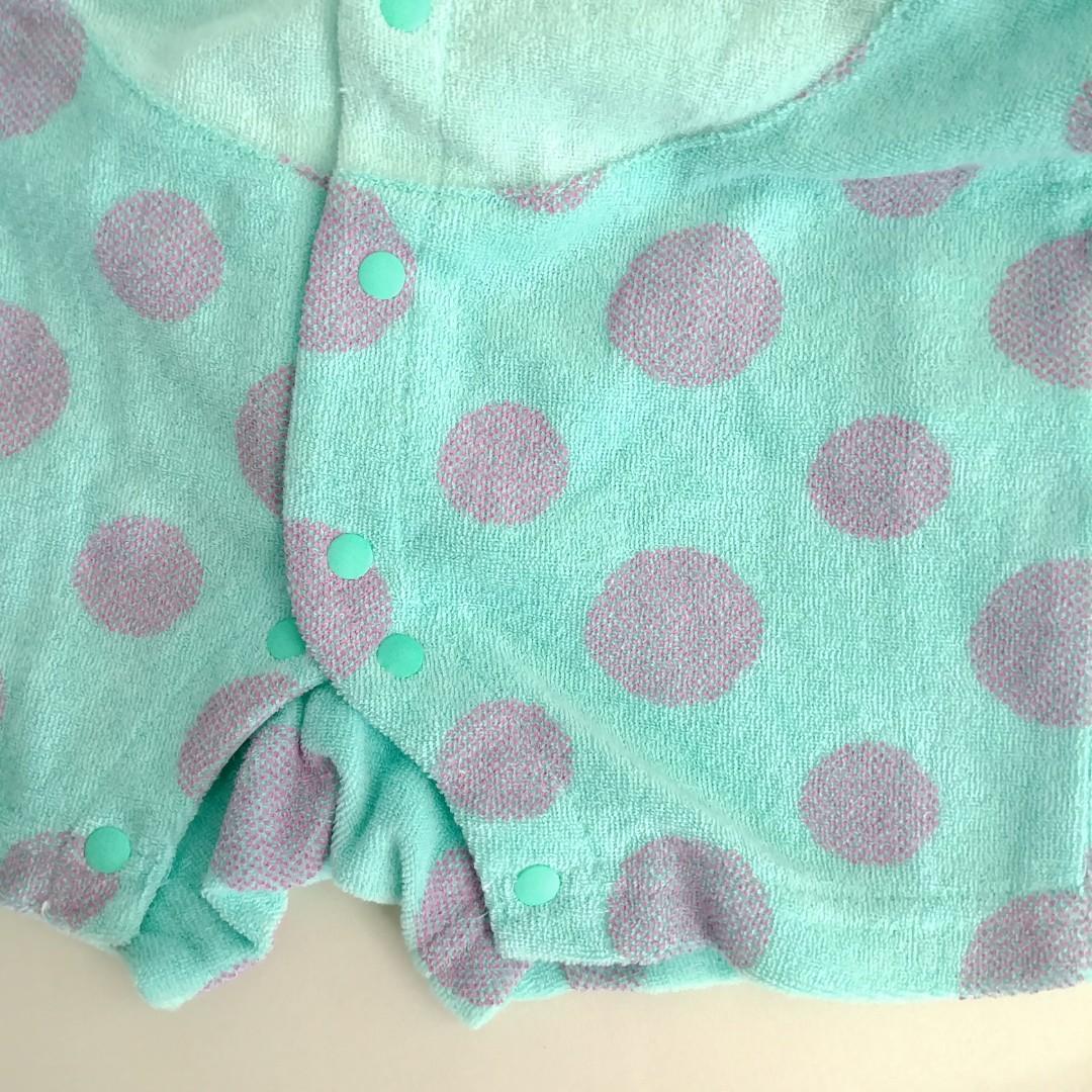 (70cm) 怪獸大學 毛毛 出口日本 BB嬰兒可愛造型 連身夾衣  Disney baby 全新 costume baby jumpsuit bodysuit 附吊牌可送禮