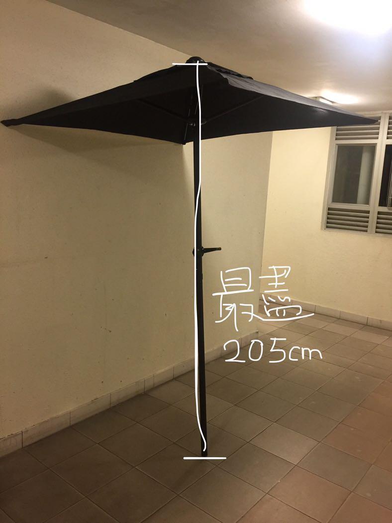 正方形戶外太陽傘