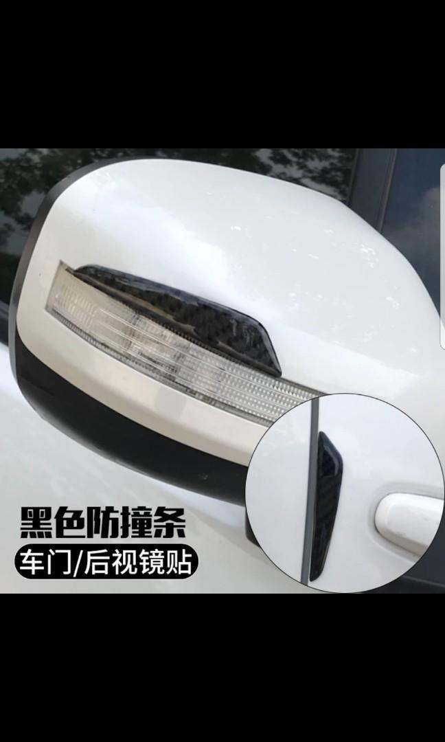 真碳纖維倒鏡車門贴
