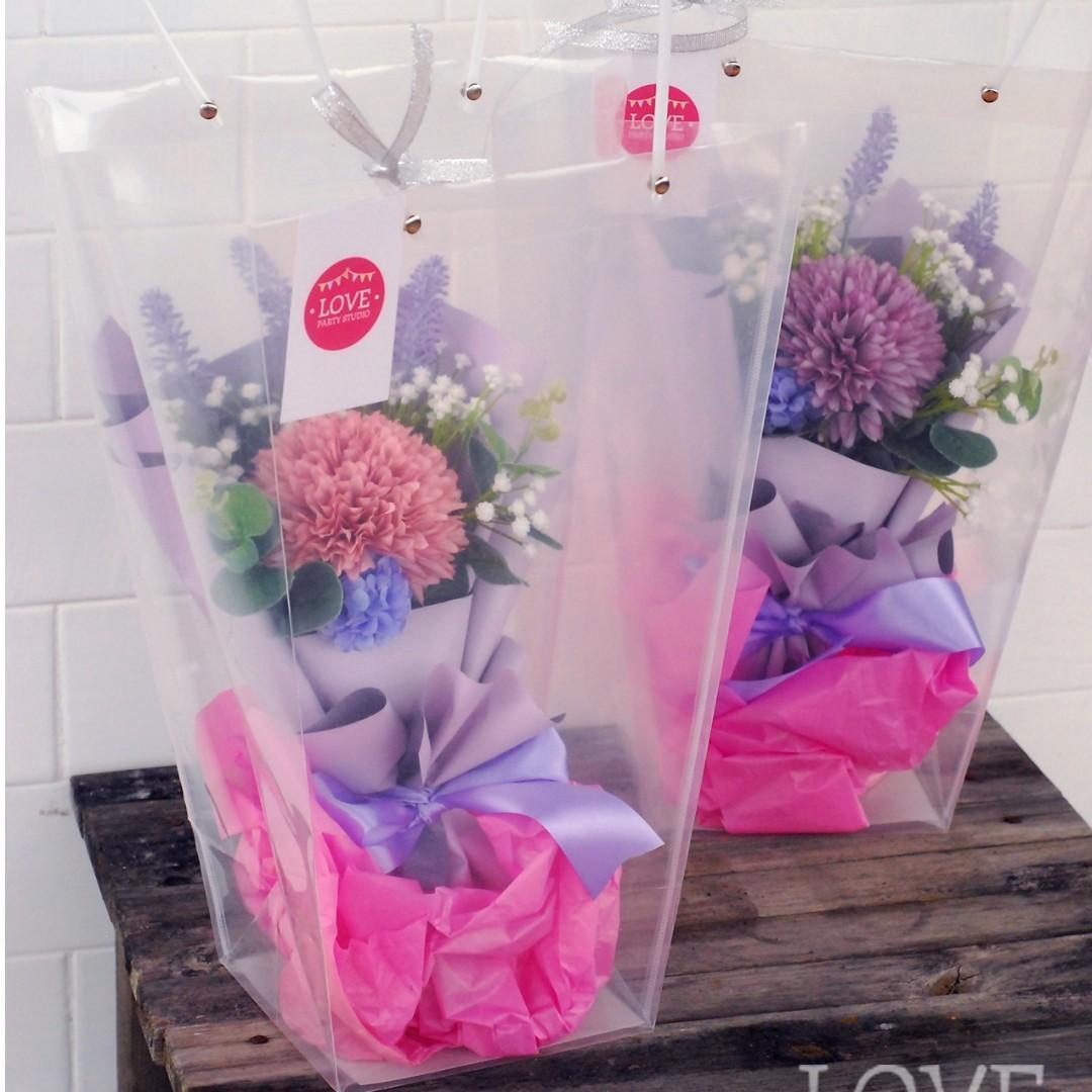 【開業特價】小絲花花束 Small Silk Flower Bouquet $250 學生畢業花束