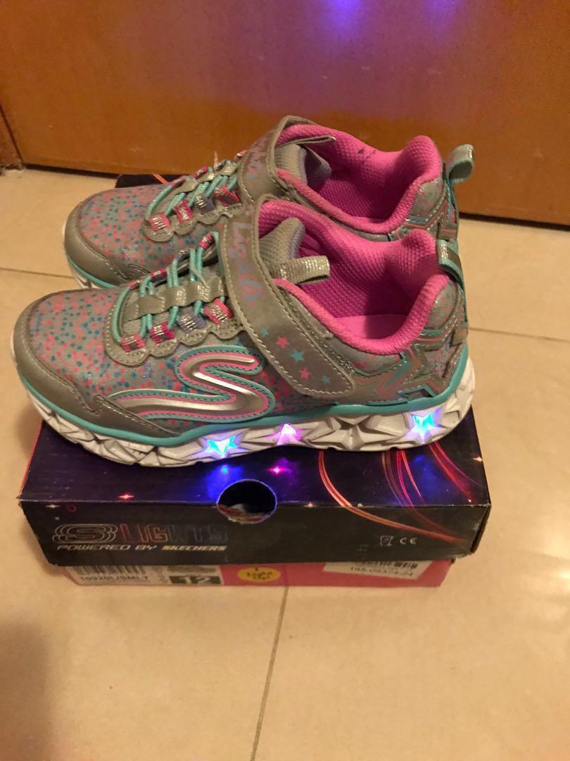 閃燈童鞋- USA12/18cm/ UK11/ EUR28.5