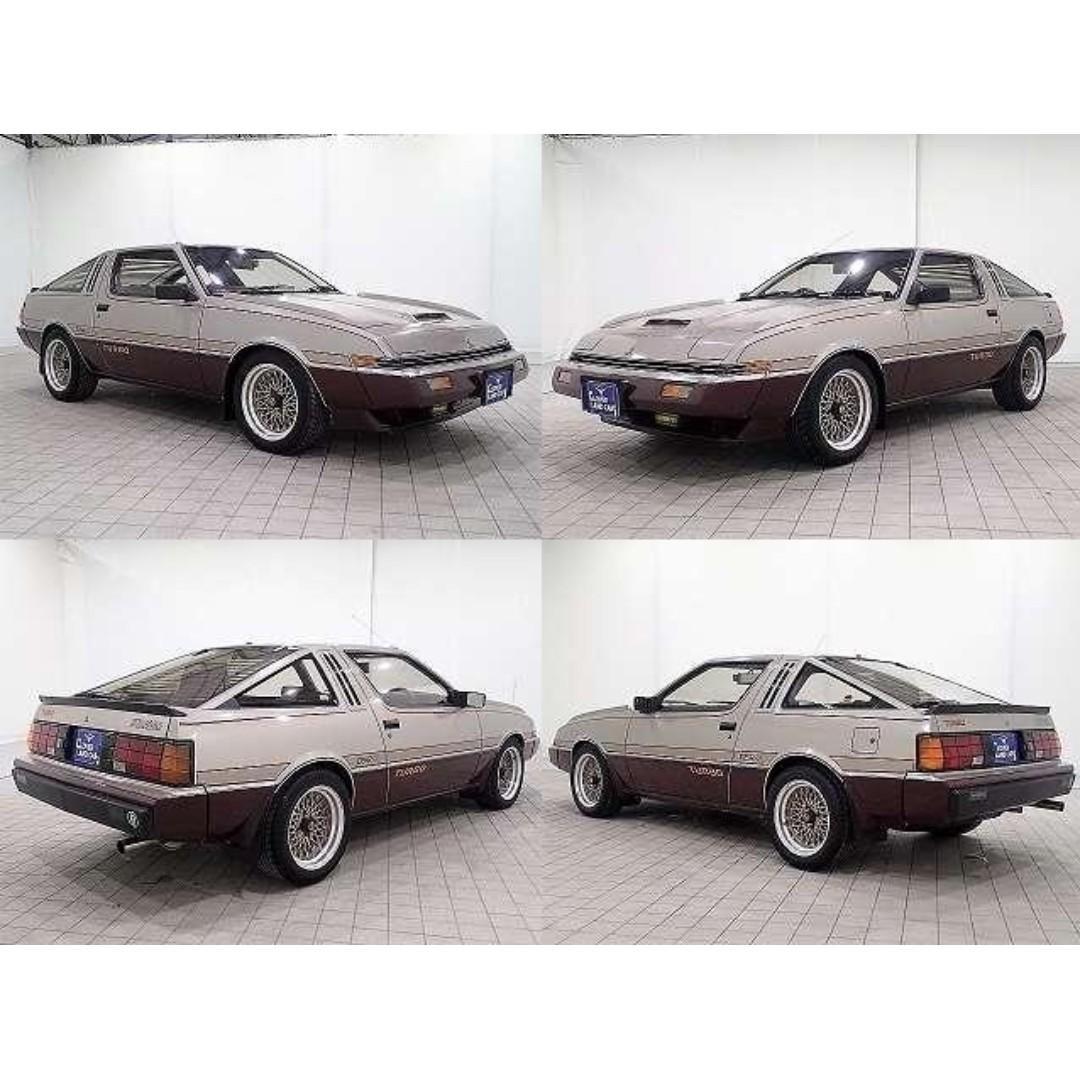 日本汽車代購 1982 MITSUBISHI STARION A183A GSR X TURBO