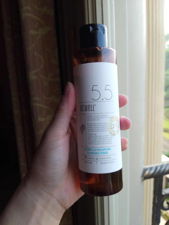Acwell licorice toner 5.5