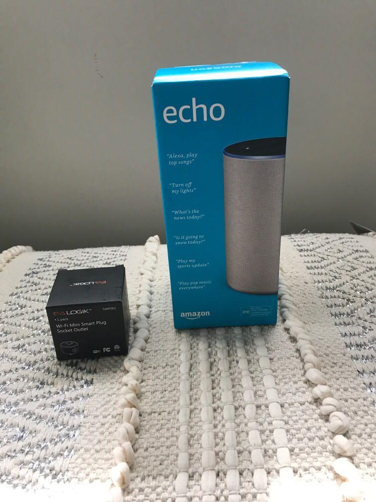 Amazing echo bnib and mini plug wifi
