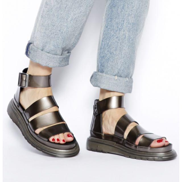 AUTHENTIC Dr. Martens Clarissa Sandals, Women's Fashion
