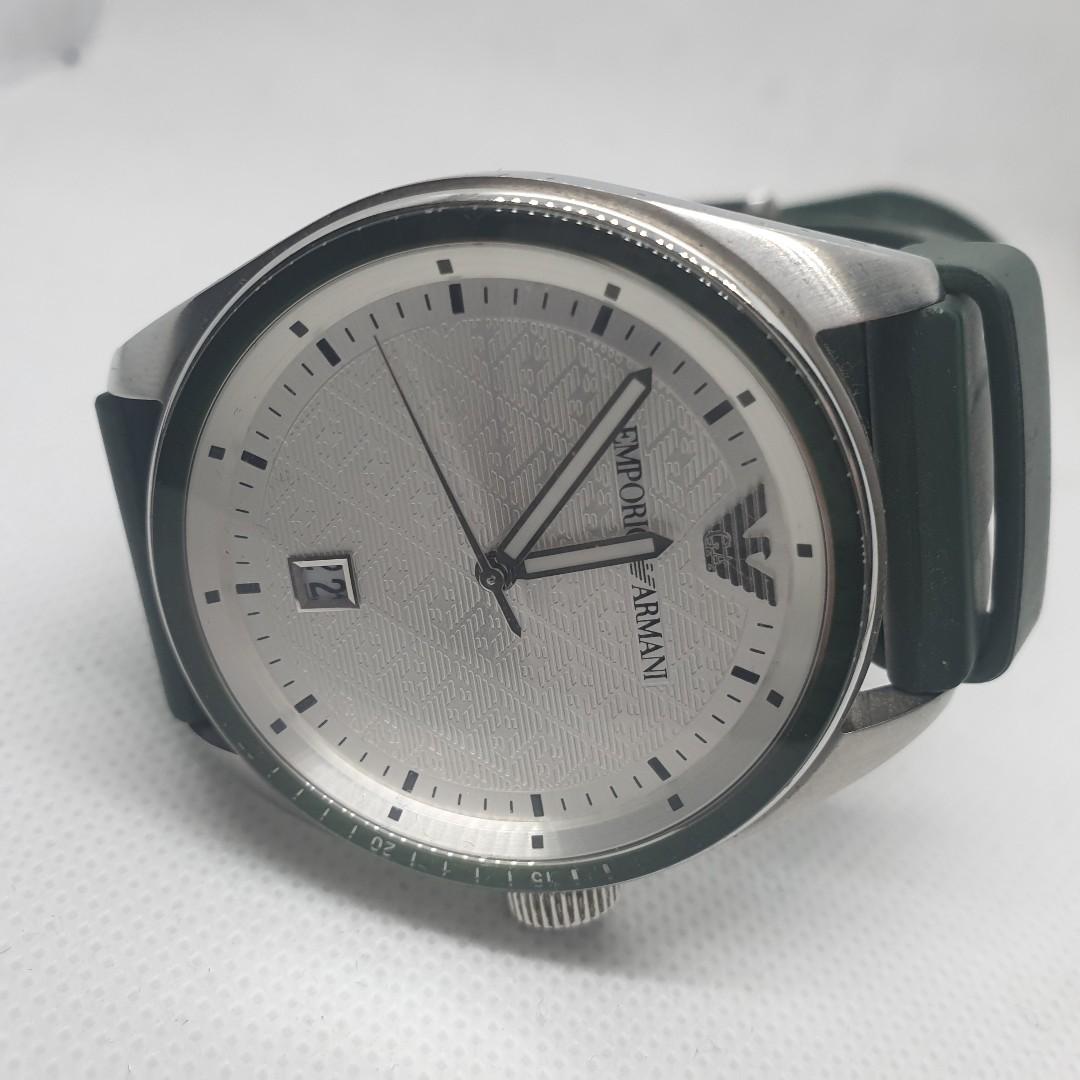 9382292c4 Authentic Emporio Armani Men's Sport Watch AR0685 Not Rado Tissot, Men's  Fashion, Watches on Carousell